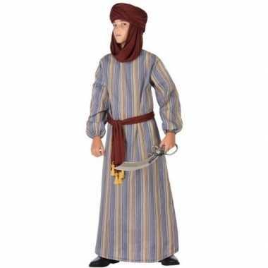 Arabische strijder ali verkleed carnavalskleding/gewaad jongens arnh