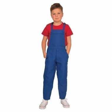 Blauwe tuinbroek/carnavalskledingl kinderen arnhem