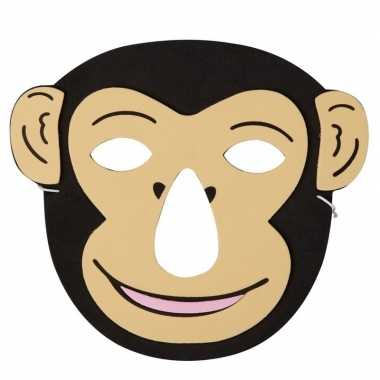 Carnavalskleding aap foam masker kinderen arnhem