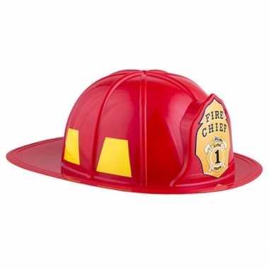 Carnavalskleding adult size brandweerhelm arnhem