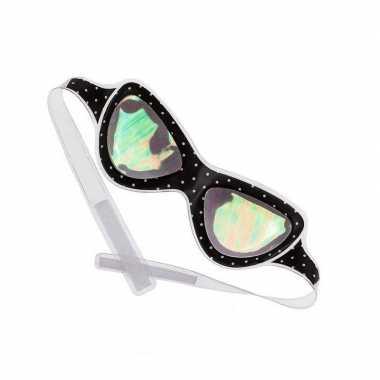 Carnavalskleding alien bril / oogmasker volwassenen arnhem