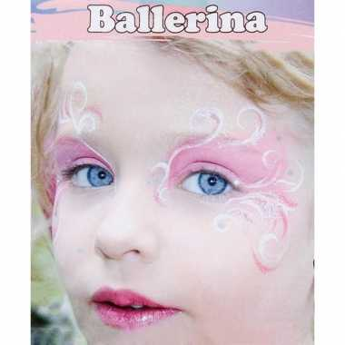 Carnavalskleding ballerina schminken schminkset arnhem