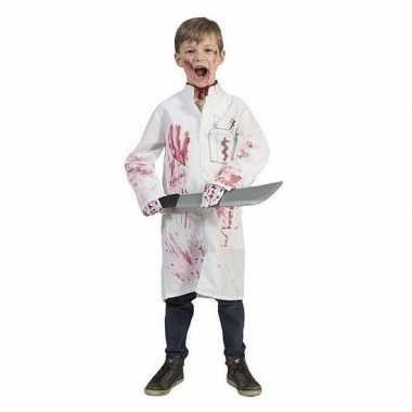 Carnavalskleding bebloede doktersjas kinderen maat arnhem