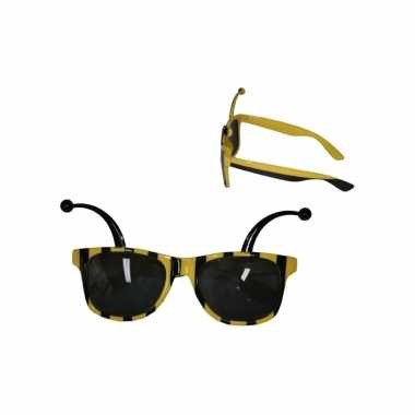 Carnavalskleding bijen zonnebril arnhem