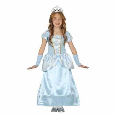Carnavalskleding blauw prinsessen verkleedjurkje meisjes arnhem