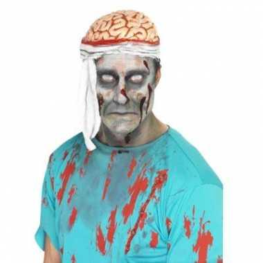 Carnavalskleding bloederige hersenen hoedje arnhem