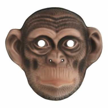 Carnavalskleding chimpansee verkleed apen dierenmasker kinderen arnhe