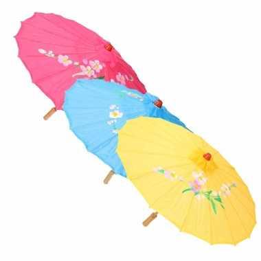 Carnavalskleding chinese paraplu wit arnhem