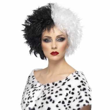 Carnavalskleding cruella pruik dames arnhem