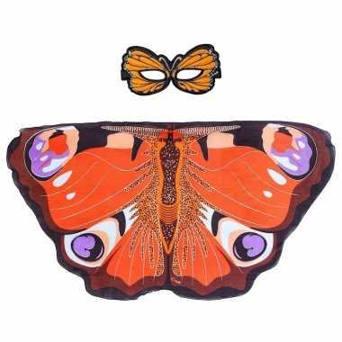 Carnavalskleding dagpauwoog vlinder verkleedset meisjes arnhem