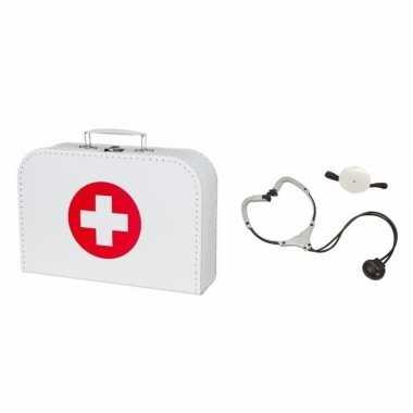 Carnavalskleding dokterskoffertje stethoscoop volwassenen arnhem