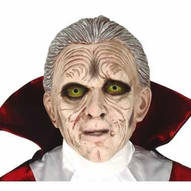 Carnavalskleding dracula/vampier horror masker latex arnhem