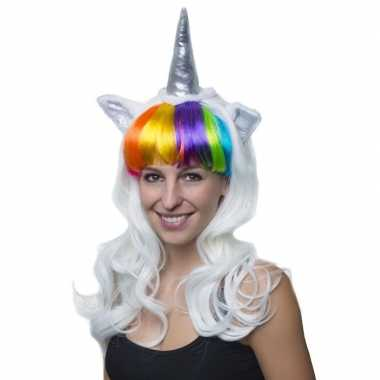 Carnavalskleding eenhoorn verkleed pruik dames arnhem