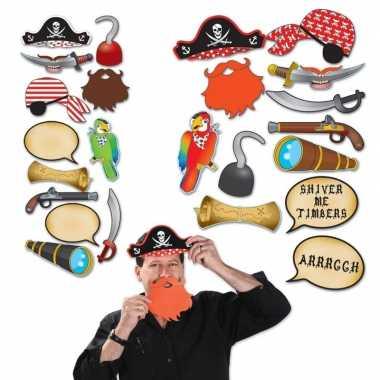 Carnavalskleding foto prop set piraat arnhem