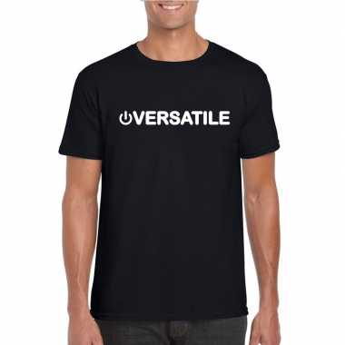 Carnavalskleding gay shirt power versatile zwart heren arnhem