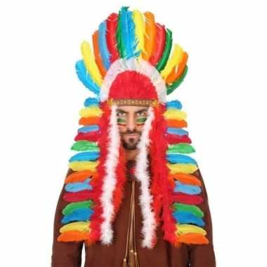 Carnavalskleding gekleurde indianen tooi heren arnhem