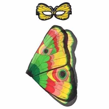Carnavalskleding gekleurde vlinder verkleedset meisjes arnhem