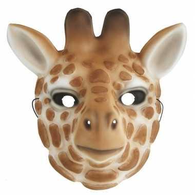 Carnavalskleding giraffe verkleed dierenmasker kinderen arnhem