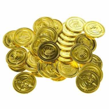 Carnavalskleding gouden piraten speelgoed munten stuks arnhem