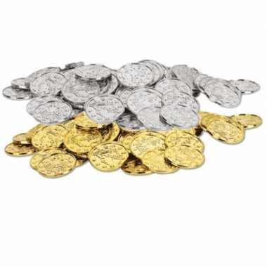 Carnavalskleding gouden zilveren oude munten x arnhem