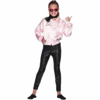 Carnavalskleding grease pink lady jasje meisjes arnhem