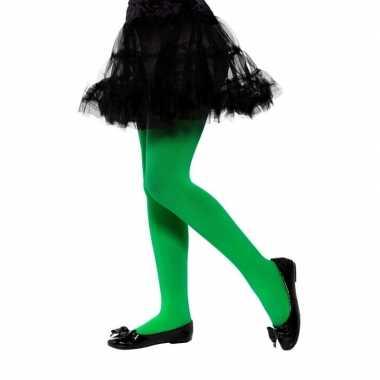 Carnavalskleding groene legging kinderen jaar arnhem