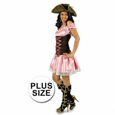Arnhem Grote Roze Maat Dames Carnavalskleding Piratenjurk AWZwPzXqAB