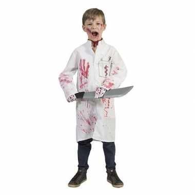 Carnavalskleding halloween bloederige doktersjas jongens arnhem