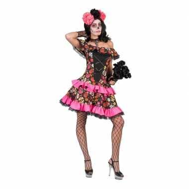 Carnavalskleding halloween day of the dead halloween jurk dames arnhe