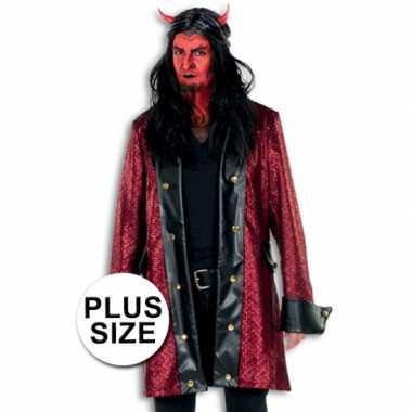 Carnavalskleding halloween grote maten duivelsjas heren arnhem