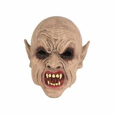 Carnavalskleding halloween halloween goblin masker latex arnhem