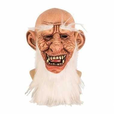 Carnavalskleding halloween halloween masker oude man latex arnhem