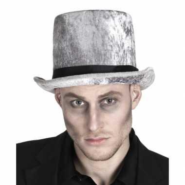 Carnavalskleding halloween hoge zombie grafgraver hoed arnhem