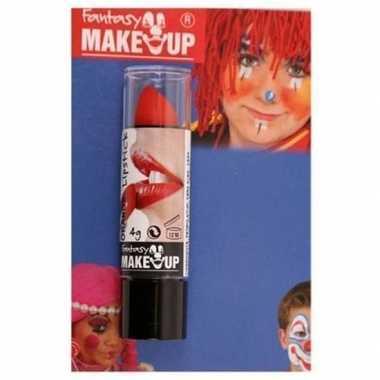 Carnavalskleding halloween/horror mat rode lippenstift/lipstick arnhe