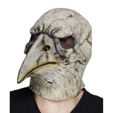 Carnavalskleding halloween latex halloween adelaar vogel masker volwa