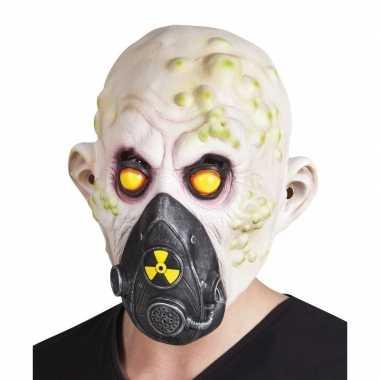Carnavalskleding halloween nucleair slachtoffer halloween masker late