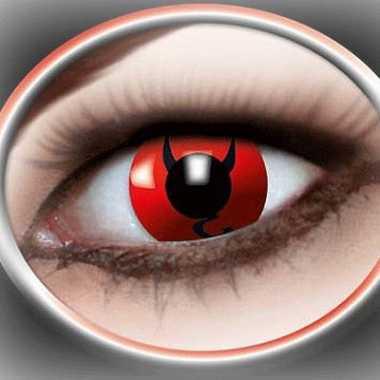 Carnavalskleding  Halloween Party lenzen duivel ogen Arnhem