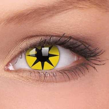 Kleurlenzen Halloween.Carnavalskleding Halloween Party Lenzen Yellow Star Arnhem