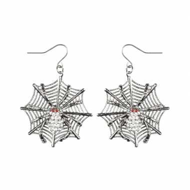 Carnavalskleding halloween spinnen heksen oorbellen dames arnhem