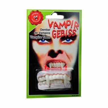 Carnavalskleding  Halloween Vampier gebitje boven onder tanden Arnhem