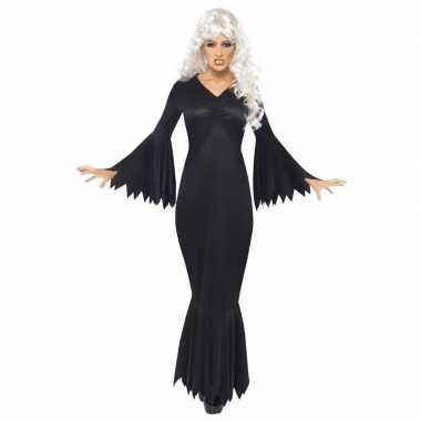 Carnavalskleding halloween vampieren jurk zwart dames arnhem
