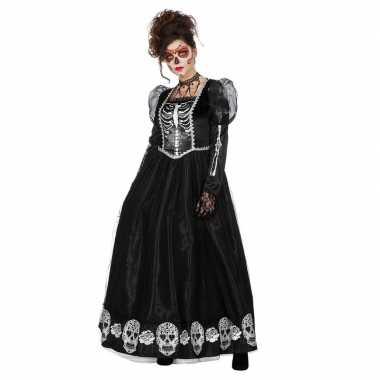Carnavalskleding halloween zwarte gothic day of the dead halloween ju