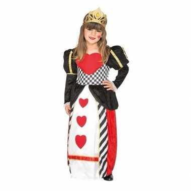 Carnavalskleding hartenkoningin jurk meisjes arnhem