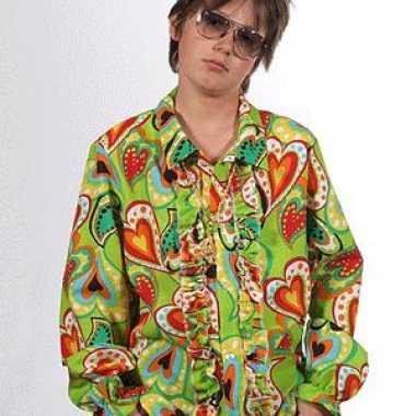 Carnavalskleding hippie blouse rouches kids arnhem