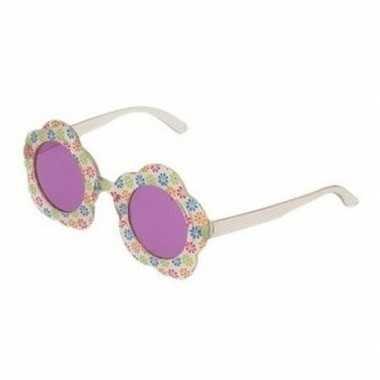 Carnavalskleding hippie verkleed bril paarse glazen volwassenen arnhe