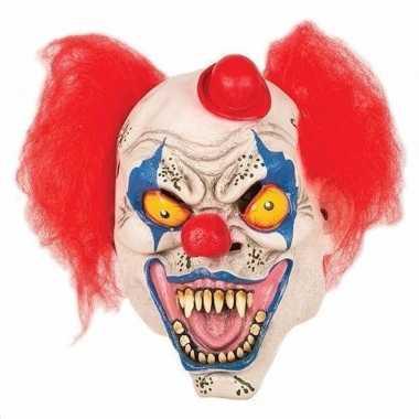 Carnavalskleding horror clown masker hoedje arnhem