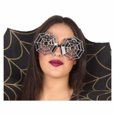 Carnavalskleding horror spinnenweb verkleed bril volwassenen arnhem