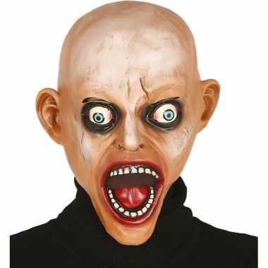 Carnavalskleding kale zombie horror masker latex arnhem