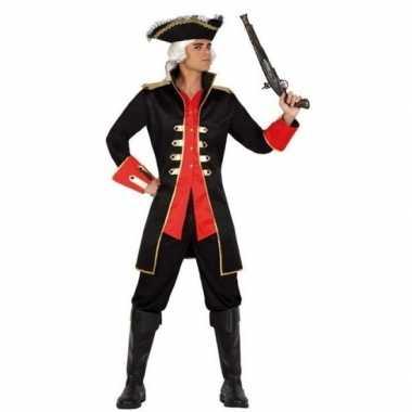 Carnavalskleding kapitein piraat william verkleed jas heren arnhem