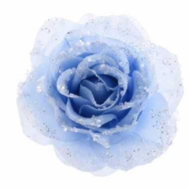 Carnavalskleding kerstboom decoratie roos ijsblauw arnhem